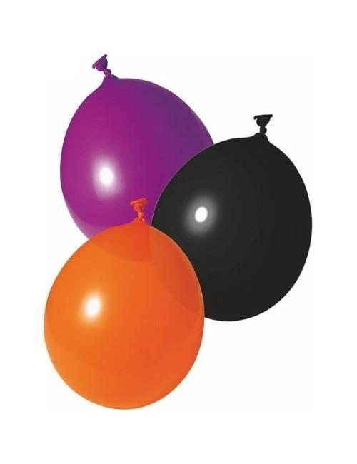 Set 20 baloane asortate, Halloween, 25 cm