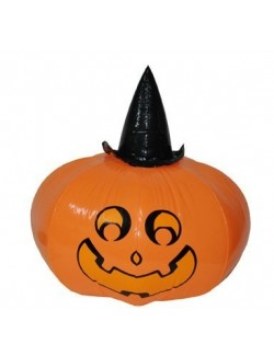 Decoratiune Dovleac gonflabil Halloween, 50 cm
