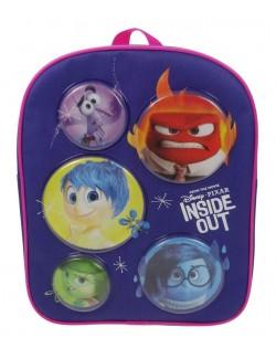 Ghiozdan rucsac Disney Inside Out, 30x24 cm