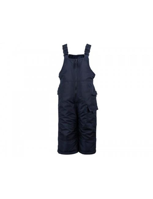 Salopetă fâș pentru ski, bleumarin, copii 1 - 7 ani