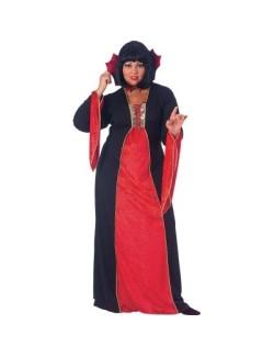 Rochie Halloween femei: Vampir Gotic, Plus size