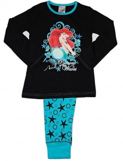 Pijama copii Ariel Mica Sirena, 4 - 10 ani