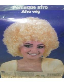 Peruca sintetica afro, blond auriu