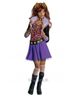 Costum carnaval copii: Clawdeen Wolf Monster High Rubie's