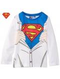Bluza Superman copii, maneca lunga