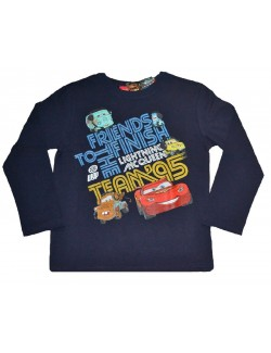 Bluza copii, Cars Fulger McQueen, bleumarin, 3-8 ani