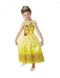 Costum copii: Belle Glitter, Frumoasa si Bestia Rubies