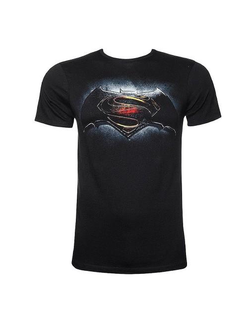 Tricou Batman vs. Superman barbati (logo albastru)