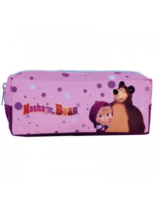Penar mov cu buline Masha şi Ursul,  21*8*5 cm