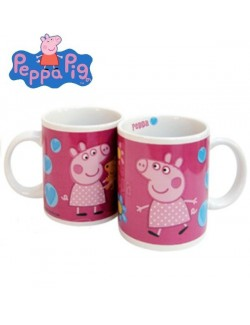Cana ceramica Peppa Pig, inimioare