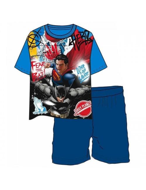 Pijama vara Batman vs. Superman, 6 - 10 ani