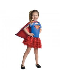Costum carnaval Rochie Supergirl Rubie's, copii