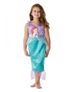 Costum Ariel Mica Sirena Clasic Rubies