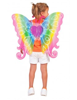 Aripi Zana Curcubeu / Fluture 60*54 cm
