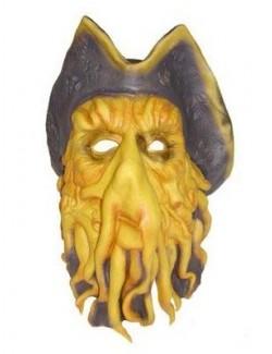 Masca latex Piratii din Caraibe - Cpt. Davy Jones