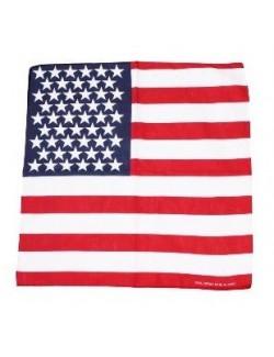 Bandana steag S.U.A 54 x 54 cm