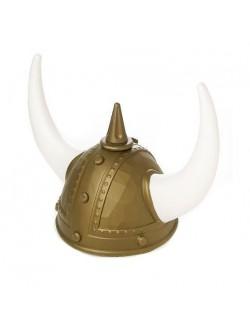 Casca de viking cu coarne mari, pentru copii