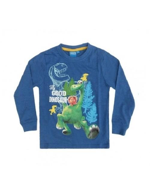 Bluza Bunul Dinozaur 2 - 7 ani, albastru-oțel