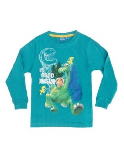 Bluza copii 2-7 ani, Bunul Dinozaur, verde
