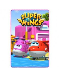 Păturică polar Super Wings, 100*150 cm