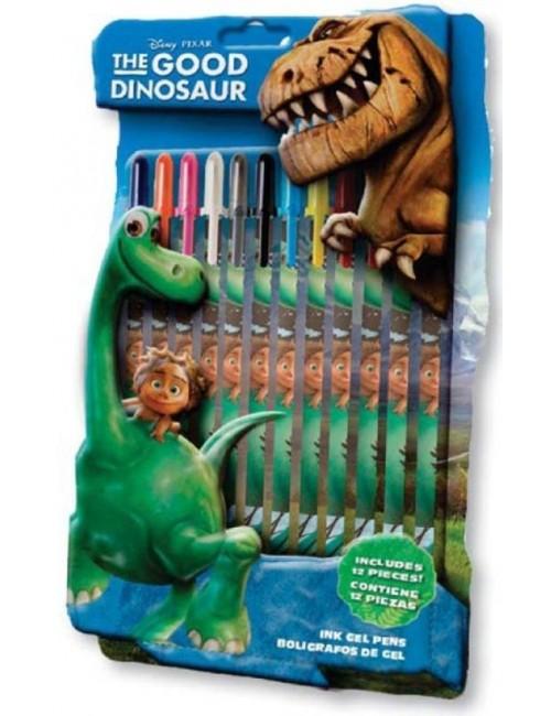 Set 12 pixuri cu gel Bunul Dinozaur