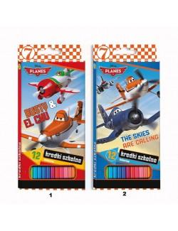 Set creioane 12 culori, Disney Planes (Disney Avioane)