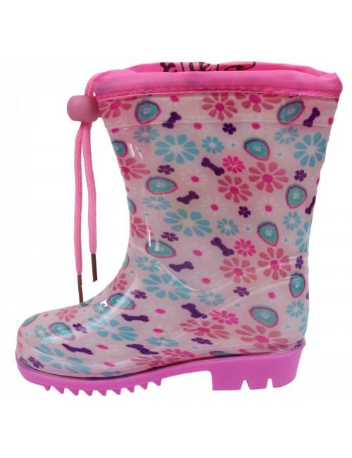 Cizme ploaie Skye Paw Patrol, roz, 22 -33