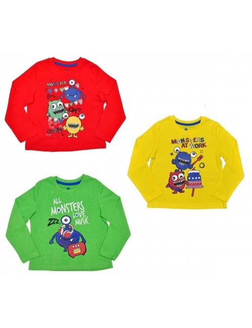 """Bluza copii 12 luni - 6 ani Lupilu """"Little Monsters"""""""