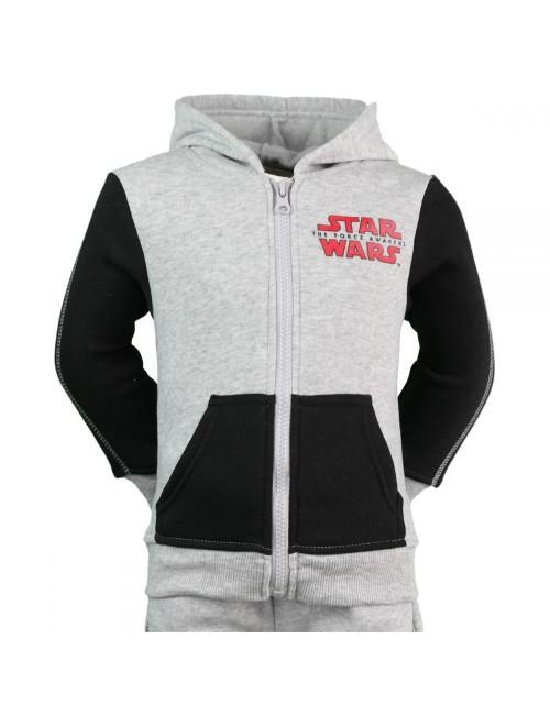 Trening Star Wars, gri-negru, copii 3 - 10 ani