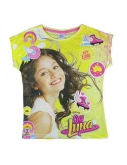 Tricou Soy Luna, galben, 6-11 ani