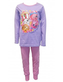 Pijama Shopkins Sweet dreams, copii 5 - 6 ani