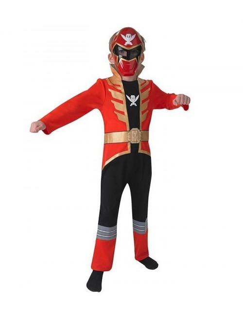 Costum Power Rangers Megaforce, Red Ranger