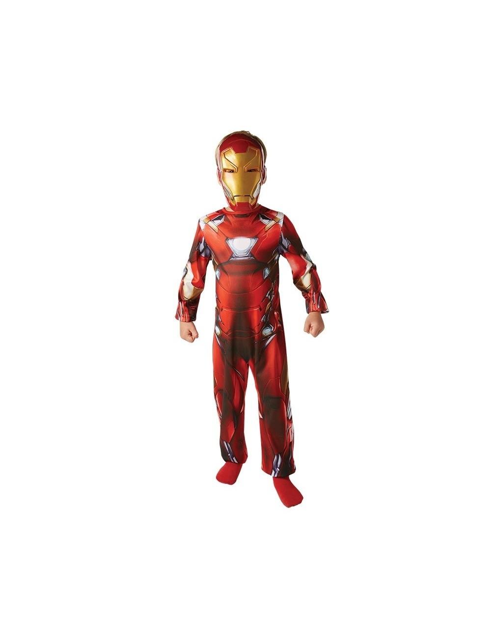 Costum carnaval Iron Man Clasic  Marvel Civil war