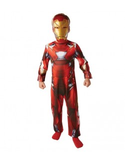 Costum carnaval Iron Man Clasic Marvel Civil war