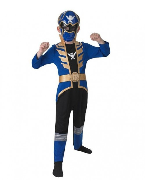 Costum Power Rangers Megaforce, Blue Ranger