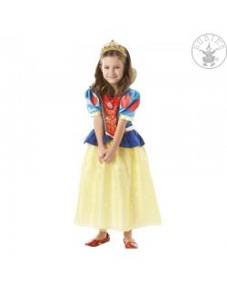 Costum Alba ca Zapada Sparkle, copii 5 - 8 ani