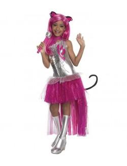 Costum Catty Noir Monster High. Fiori, motor, actiune!