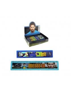 Rigla albastra 15 cm, Leo Messi
