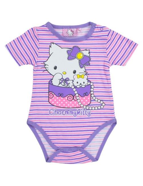 Body bebelusi Hello Kitty, mov, 3-23 luni