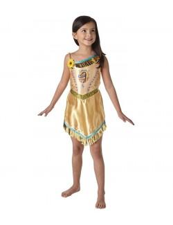 Costum indianca Pocahontas copii 3-8 ani