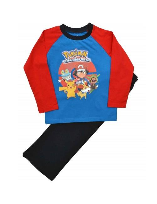 Pijama Pokemon, copii 4 - 10 ani