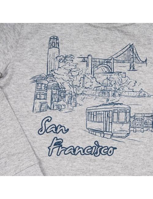Bluza maneca lunga San Francisco, copii 1-3 ani