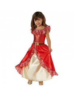 Costum carnaval: Rochie Elena din Avalor Deluxe, 5-8 ani