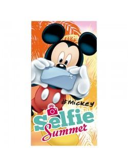 Prosop de plaja Mickey Mouse Selfie 70 x 140 cm