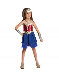Costum Wonder Woman (Femeia fantastica), copii 5-8 ani