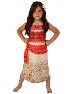 Costum Moana / Vaiana Disney, copii 3-8 ani