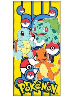 Prosop plaja Pokemon, 70x140 cm, bumbac