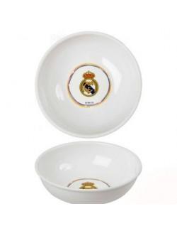 Bol din plastic alb Real Madrid - 14,5 cm