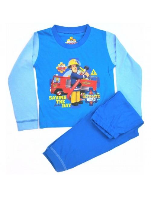 Pijama Pompierul Sam, copii 18 luni - 4 ani