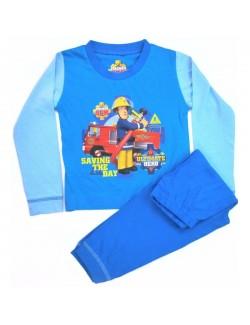 Pijama Pompierul Sam, copii 18 luni - 3 ani